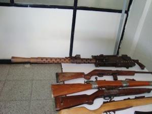 Incautan armas de alto poder en Ciudad Valles