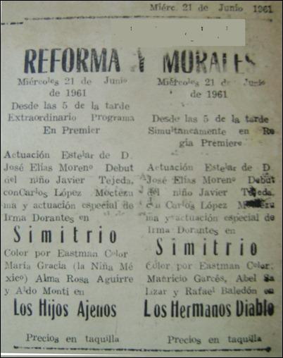 cartelera original