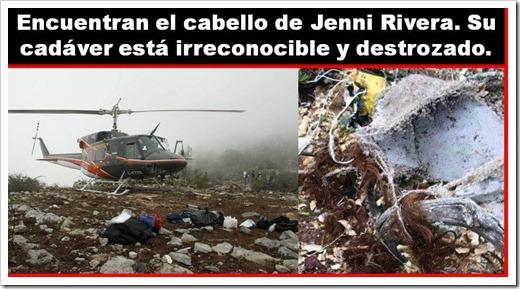 ATENTADO! El avión en que viajaba Jenni Rivera: ¡EXPLOTÓ EN EL