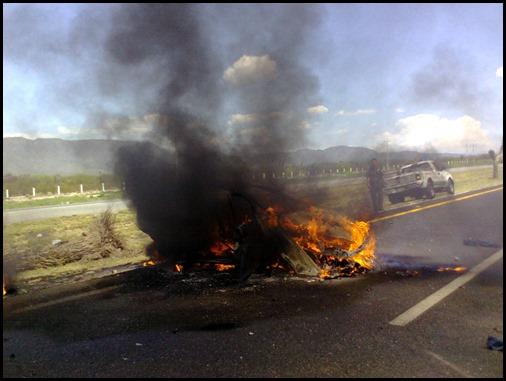 Accidente en Matehuala del sobrino de Karam