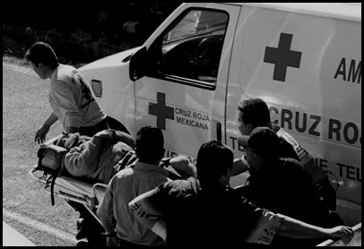 cruz roja rescate en slp