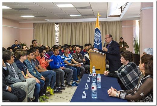 02-27-2017 (P) INAUGURACION XXVI OLIMPIADA NACIONAL DE QUIMICA }UASL1260